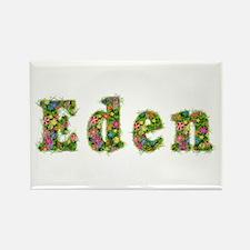 Eden Floral Rectangle Magnet