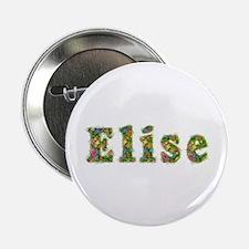 Elise Floral Button