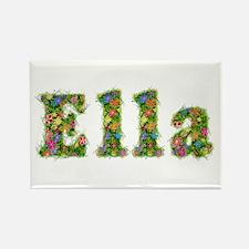 Ella Floral Rectangle Magnet