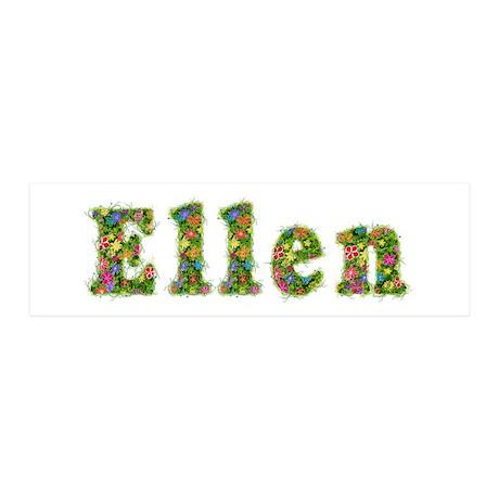 Ellen Floral 20x6 Wall Peel