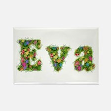 Eva Floral Rectangle Magnet