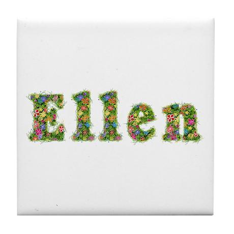 Ellen Floral Tile Coaster