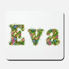 Eva Floral Mousepad