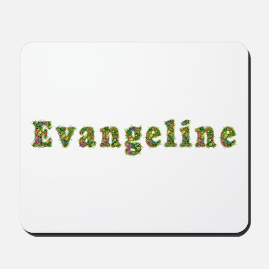 Evangeline Floral Mousepad