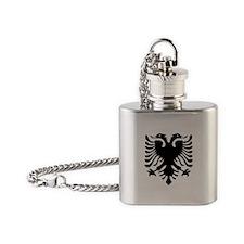 Albanian Eagle Flask Necklace