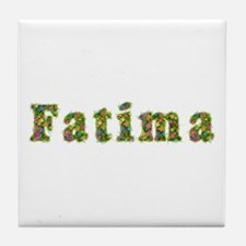 Fatima Floral Tile Coaster