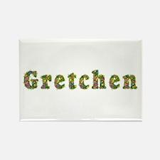 Gretchen Floral Rectangle Magnet