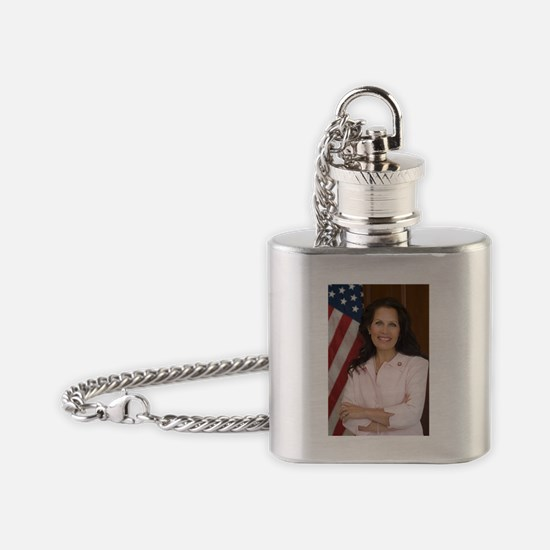 Michele Bachmann Flask Necklace