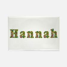 Hannah Floral Rectangle Magnet