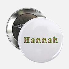 Hannah Floral Button