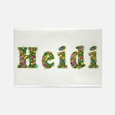 Heidi Floral Rectangle Magnet