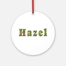 Hazel Floral Round Ornament