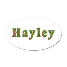 Hayley Floral Oval Car Magnet
