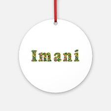 Imani Floral Round Ornament