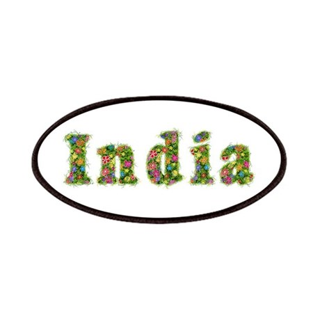India Floral Patch