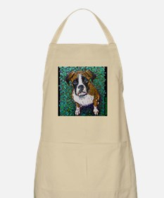 Boxer Puppy That Look BBQ Apron