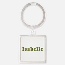 Isabelle Floral Square Keychain