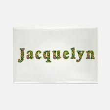 Jacquelyn Floral Rectangle Magnet