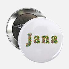 Jana Floral Button
