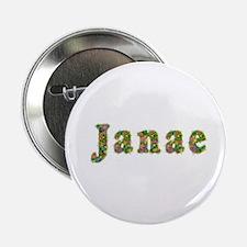 Janae Floral Button