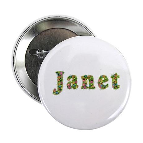 Janet Floral Button