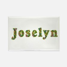 Joselyn Floral Rectangle Magnet