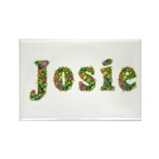 Josie Floral Rectangle Magnet