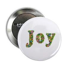 Joy Floral Button