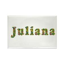 Juliana Floral Rectangle Magnet
