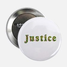 Justice Floral Button
