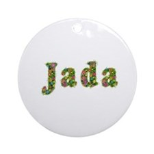 Jada Floral Round Ornament