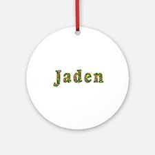 Jaden Floral Round Ornament