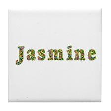 Jasmine Floral Tile Coaster