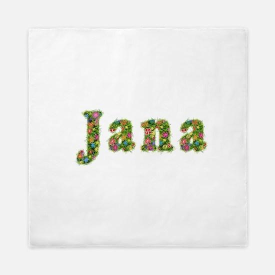 Jana Floral Queen Duvet