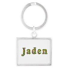 Jaden Floral Landscape Keychain