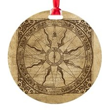 Old Compass Rose Ornament