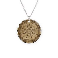 Old Compass Rose Necklace