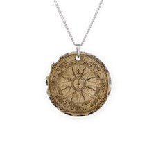 Old Compass Rose 4 Necklace