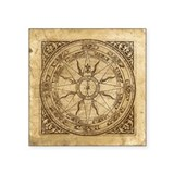 Compass rose Square