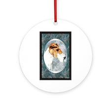 Fox Terrier Designer Ornament (Round)