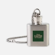 Carter for President Flask Necklace
