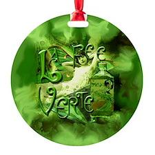La Fee Verte Collage Ornament