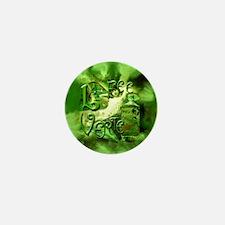 La Fee Verte Collage Mini Button