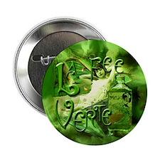 """La Fee Verte Collage 2.25"""" Button"""
