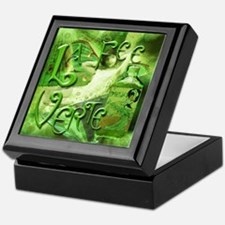 La Fee Verte Collage Keepsake Box