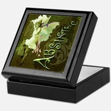 Absinthe Collage Keepsake Box