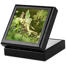 Absinthe Fairy Collage Keepsake Box