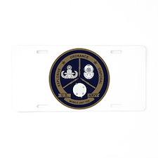 EOD Mobile Unit 10 Aluminum License Plate