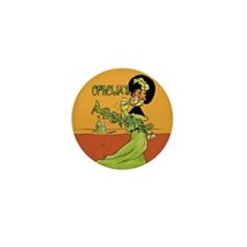 1890s Style Ophelia's Absinthe Mini Button