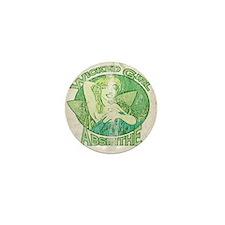 Vintage Wicked Girl Absinthe Mini Button